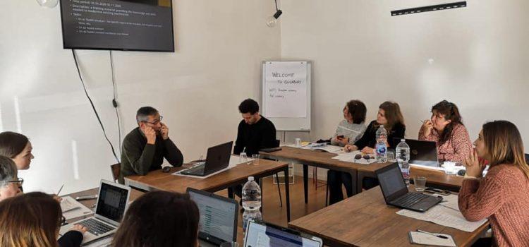 Kick off meeting held in Trani