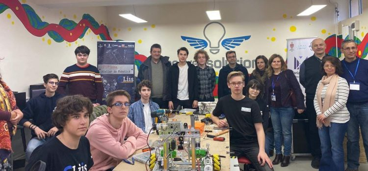 LIIS and CyLIIS: Students and Robots